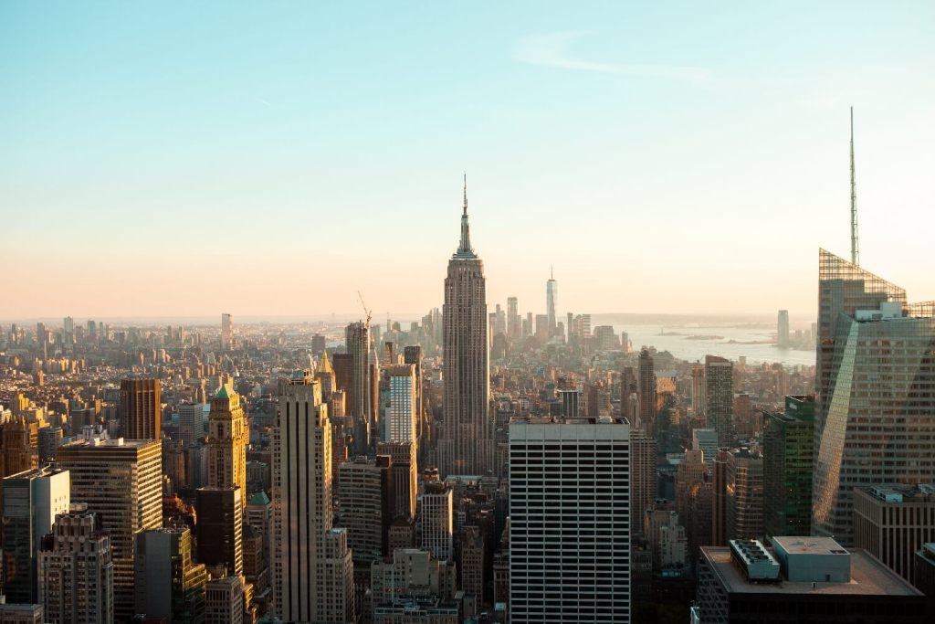 Empire State Building Rockefeller Center