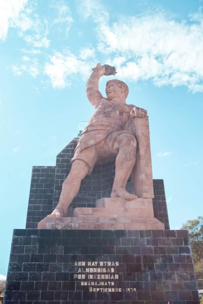 Guanajuato in Mexiko Statue