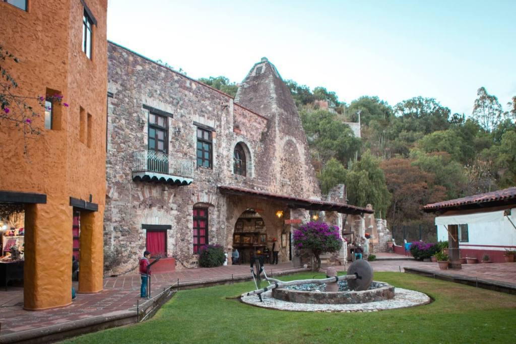 Guanajuato in Mexiko alte Silbermine