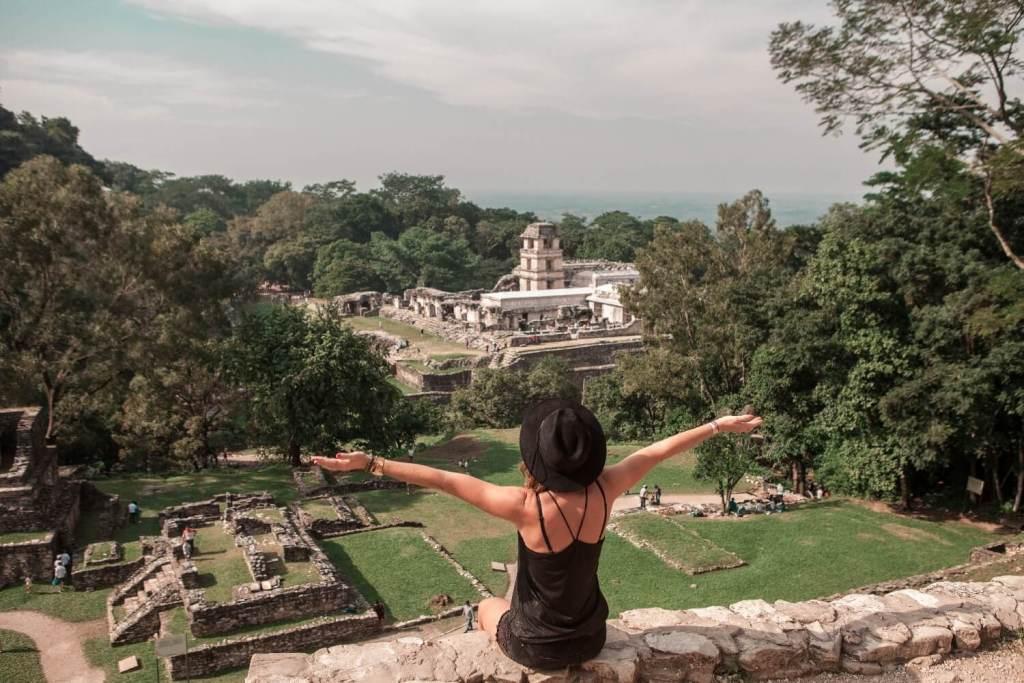 Aussicht in Palenque