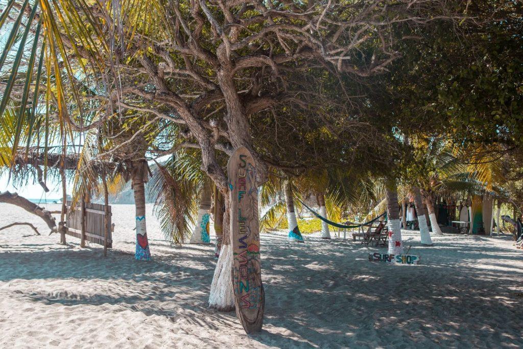 Strände von Oaxaca Surfshop