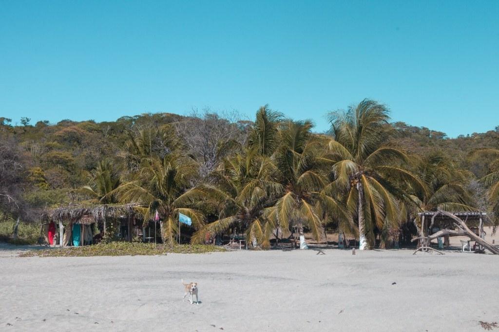 Strände von Oaxaca Strandrestaurant