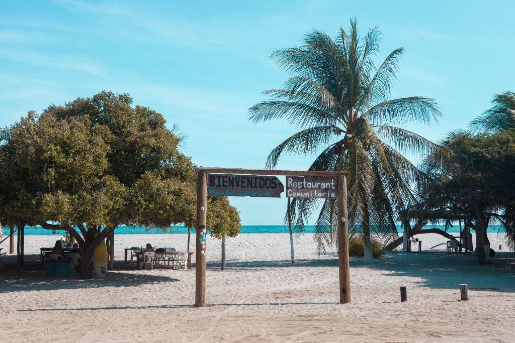 Strände von Oaxaca Playa Barra de la Cruz