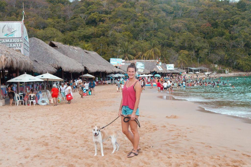 Strände von Oaxaca Playa El Maguey