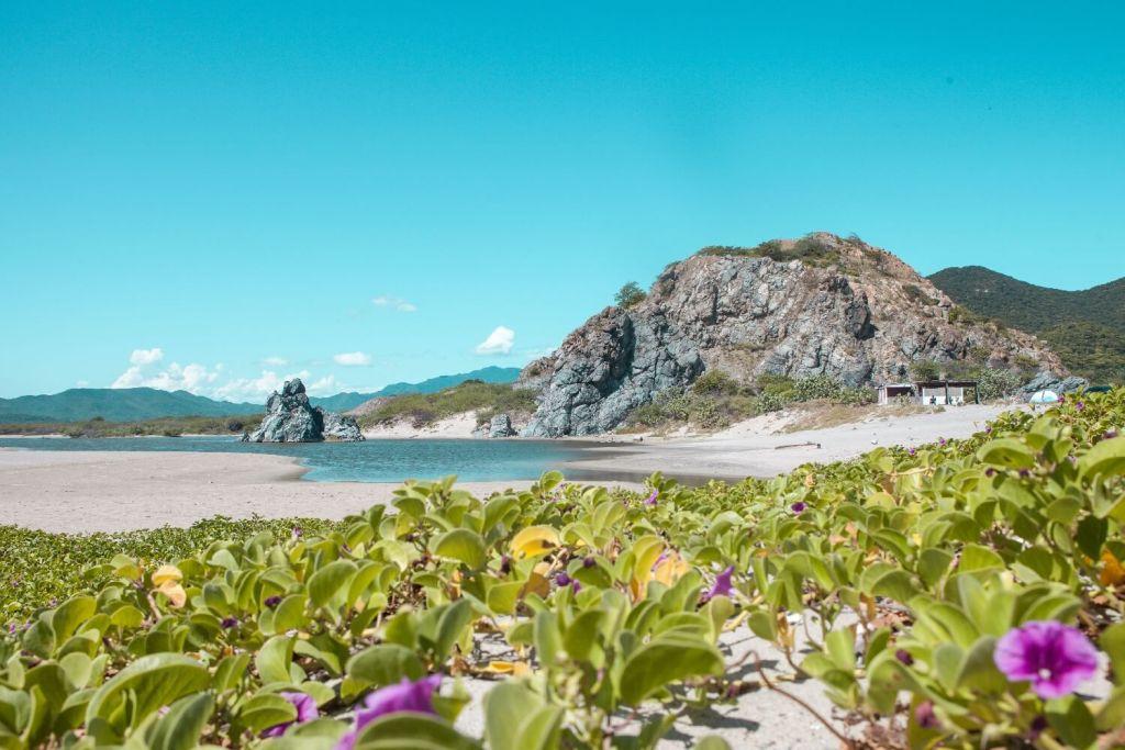 Strände von Oaxaca Bamba Beach