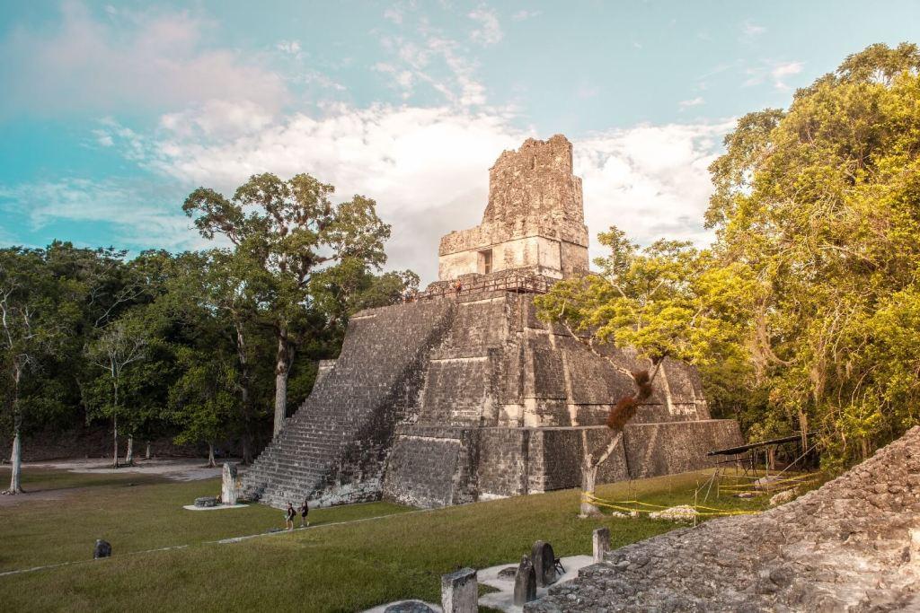 Tikal in Guatemala Tempel 2