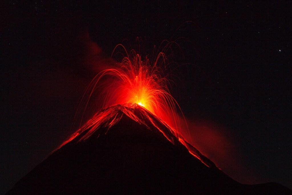 Tipps für unvergessliche Vulkan Fotos Eruption