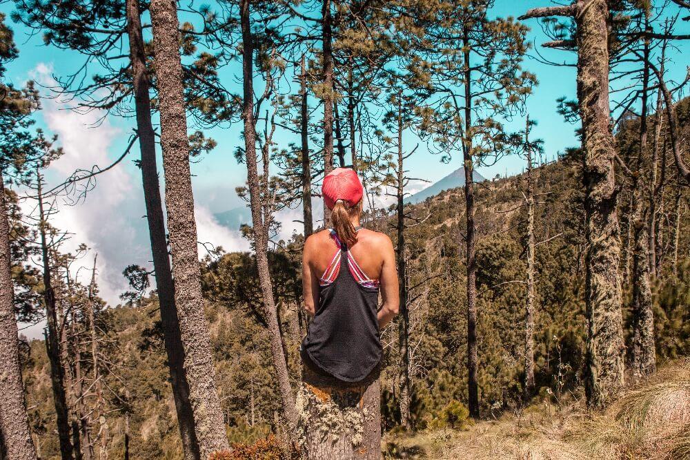Vulkanbesteigung mit wunderschönen Ausblicken