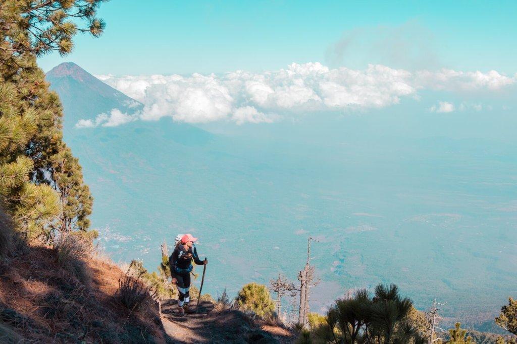 Vulkanbesteigung auf den Vulkan Acatenango