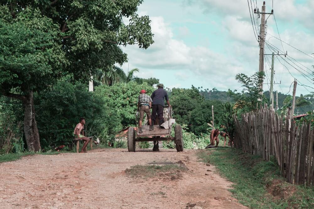 Karren in Kuba