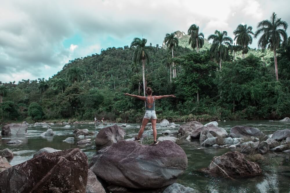 El Yunque und Fluss