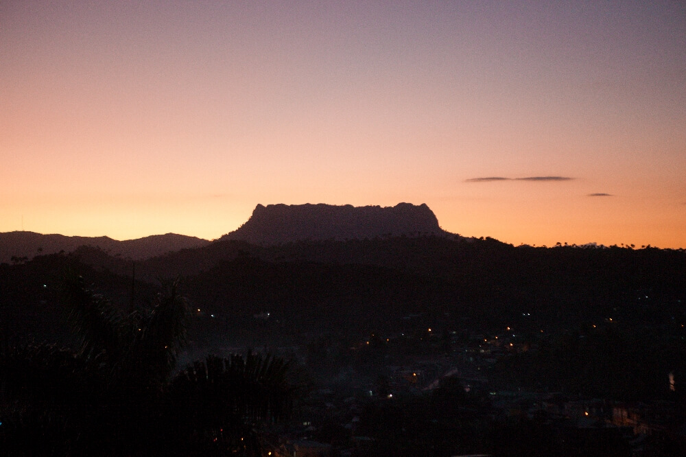 El Yunque im Sonnenuntergang