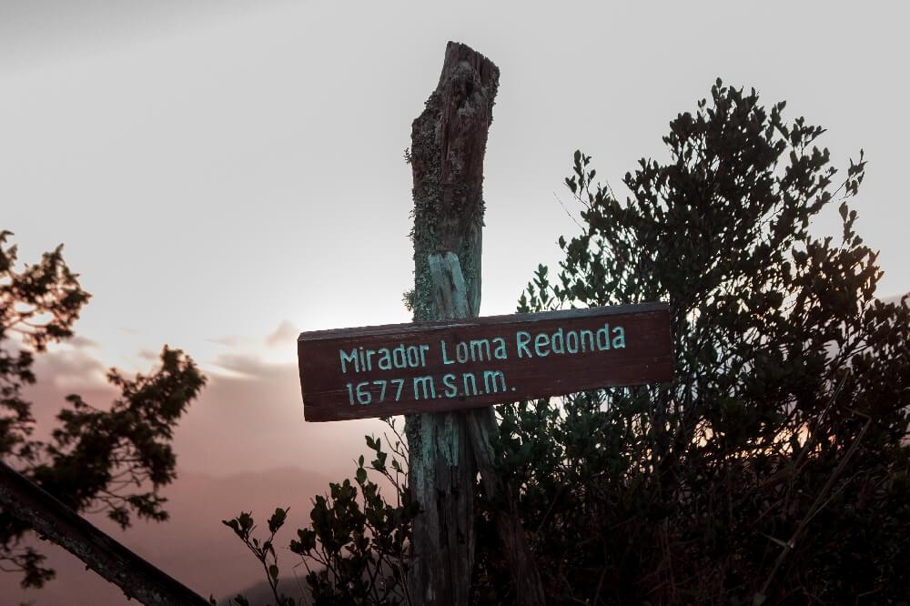 Mirador am Pico Turquino