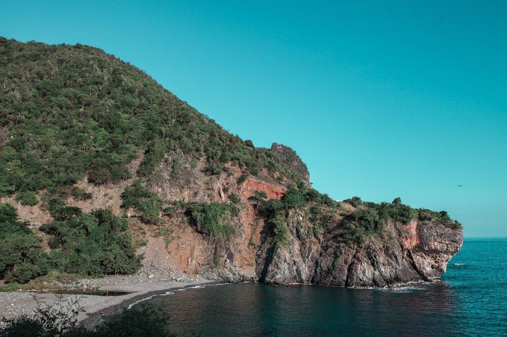 Küstenweg nach Santiago Bucht