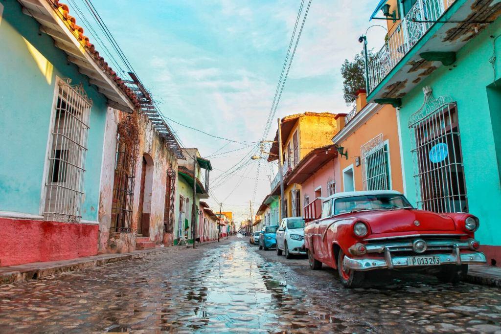 Straße von Trinidad auf Kuba