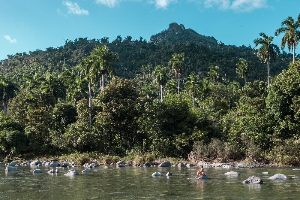Reiseroute 3 Wochen Kuba Fluss