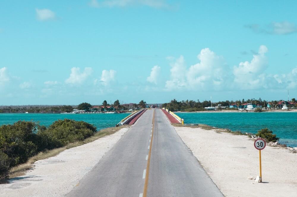 Brücke zwischen Cayo Guillermo Cayo Coco