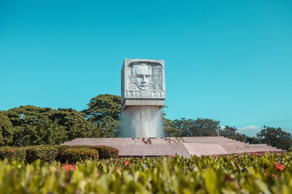 Park in Santiago Kuba