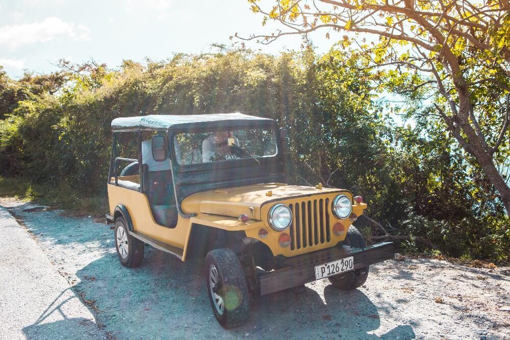Jeep für Ausflug