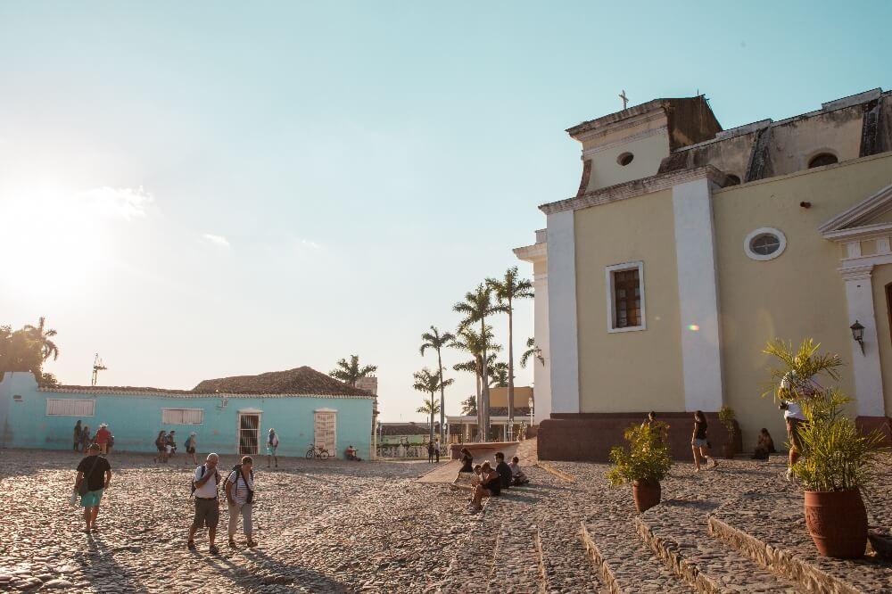 Trinidad in Kuba Plaza