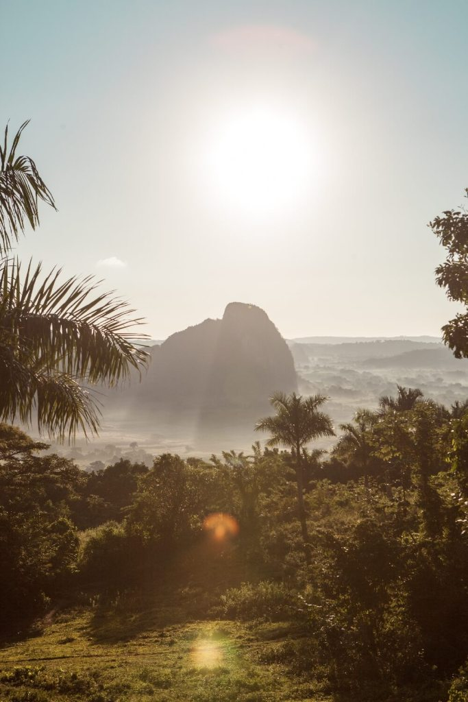 Sonnenaufgang Los Acuaticos