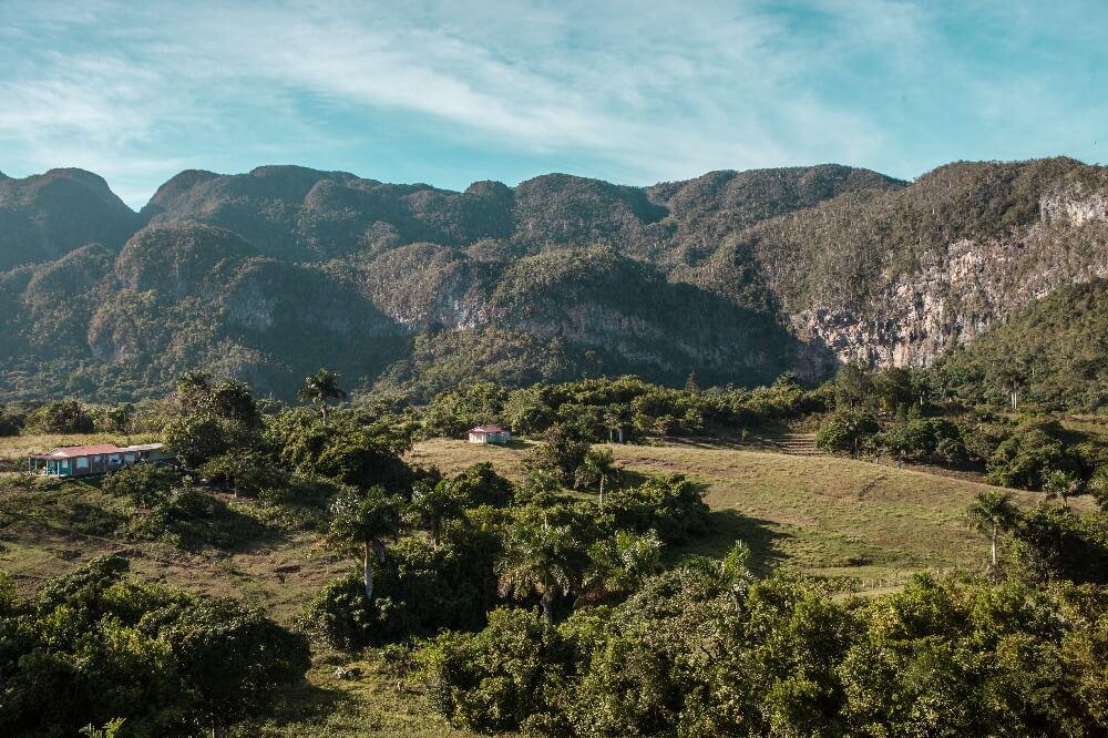 Ausblick ins Vinales Tal