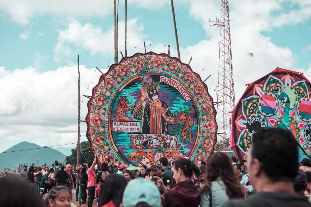 Drachenfest in Guatemala