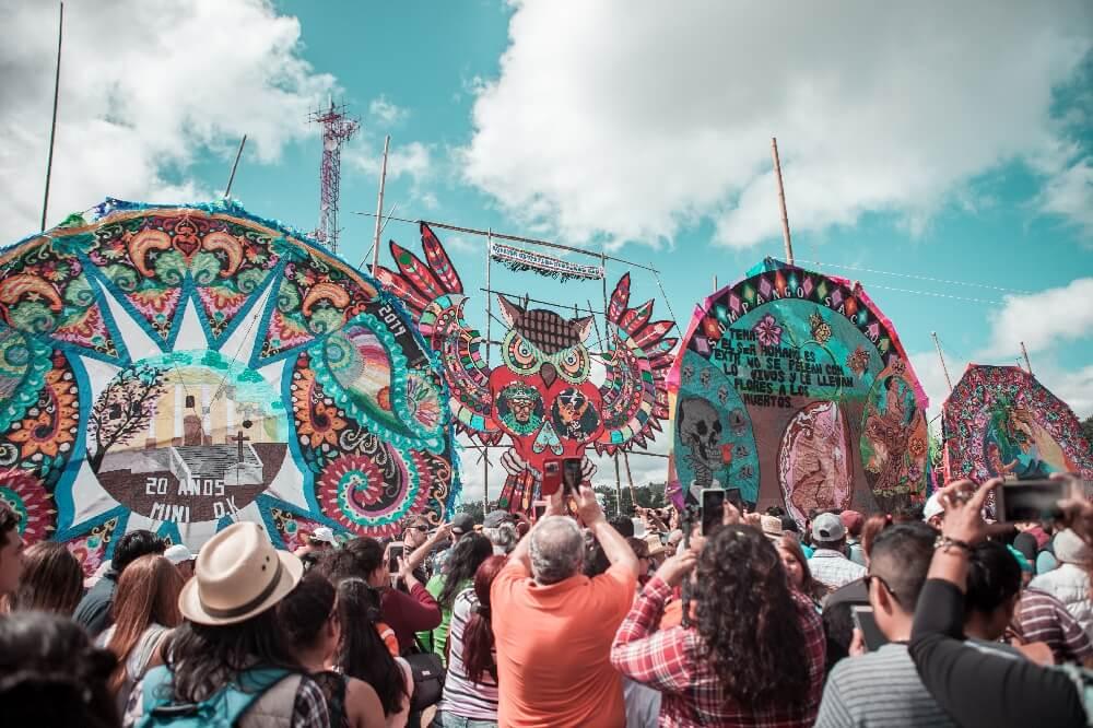 Drachenfest in Guatemala Drachen