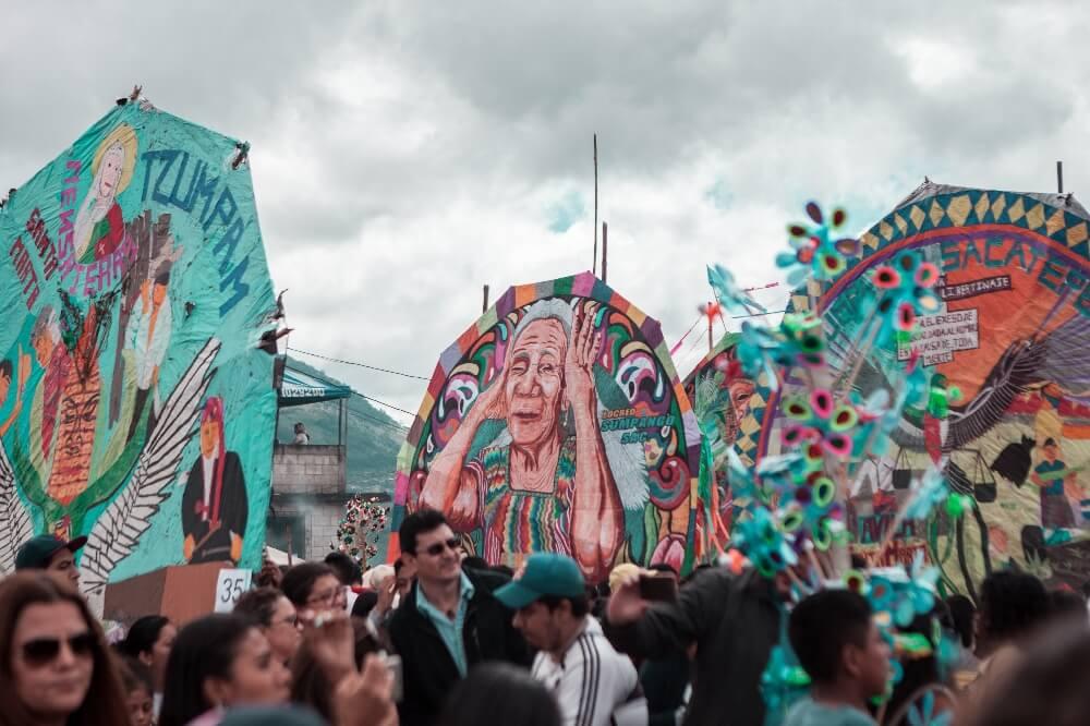 Drachenfest in Guatemala Kites