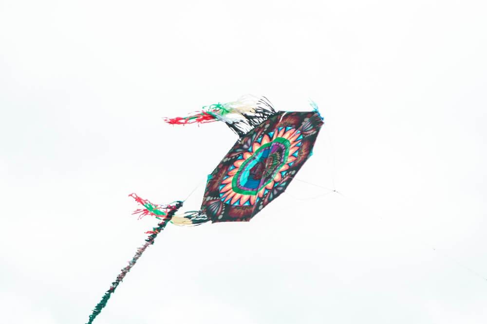 Flugdrache in Guatemala