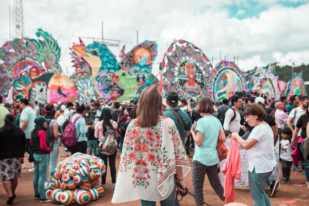 Drachenfest in Guatemala Ausblick