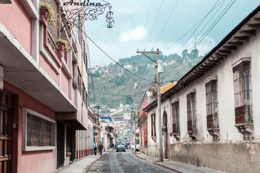 Quetzaltenango in Guatemala Altstadt