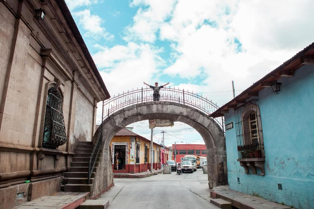 Quetzaltenango in Guatemala Venedigbrücke