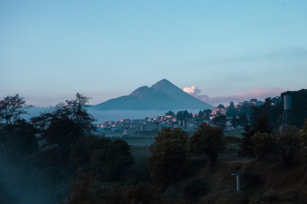 Vulkan bei Quetzaltenango