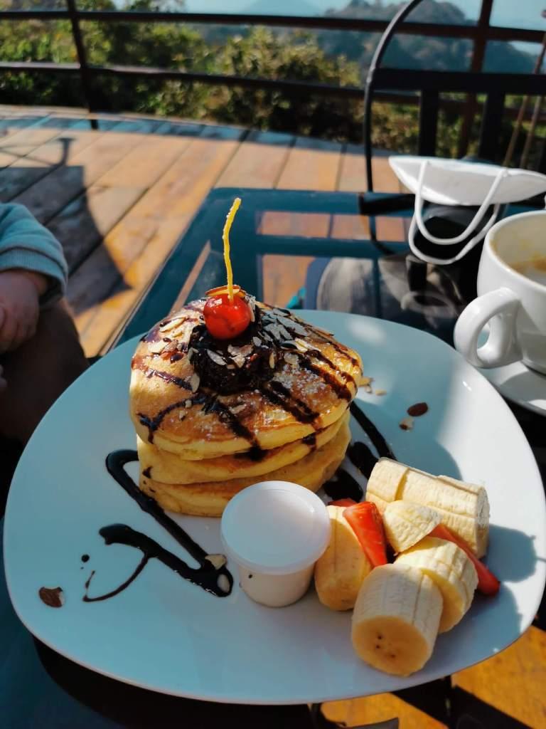 Frühstück Altamira