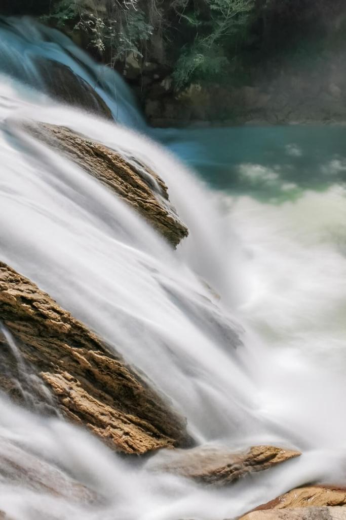 Cascada El Chiflon Wasserfall