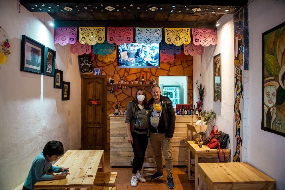 San Cristobal de las Casas Kaffeetesten