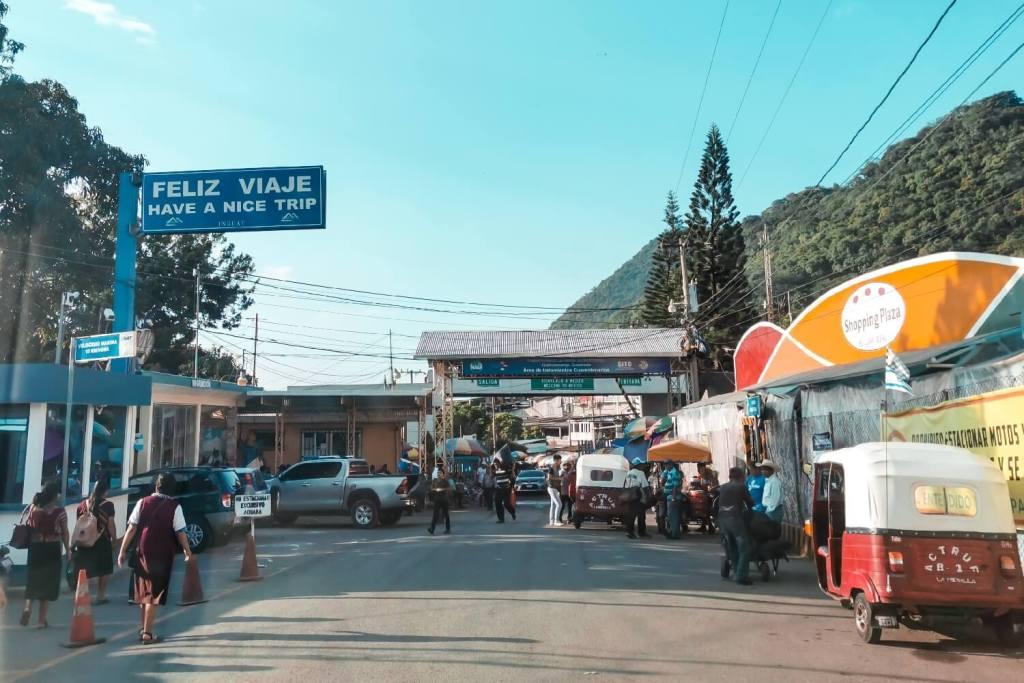 Grenze Guatemala