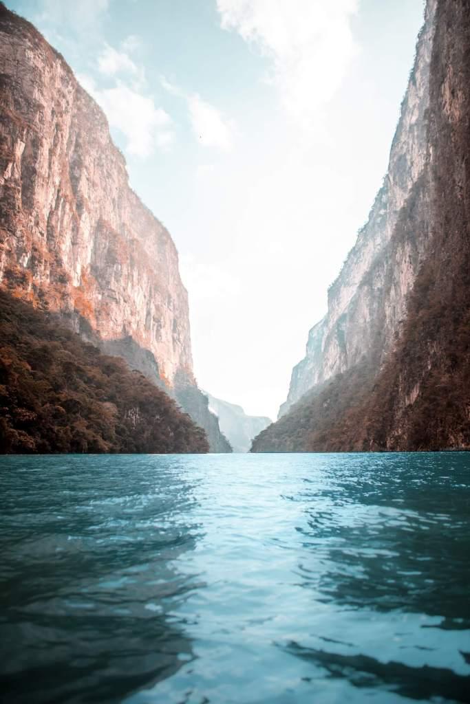Traumhaft schöner Canyon del Sumidero