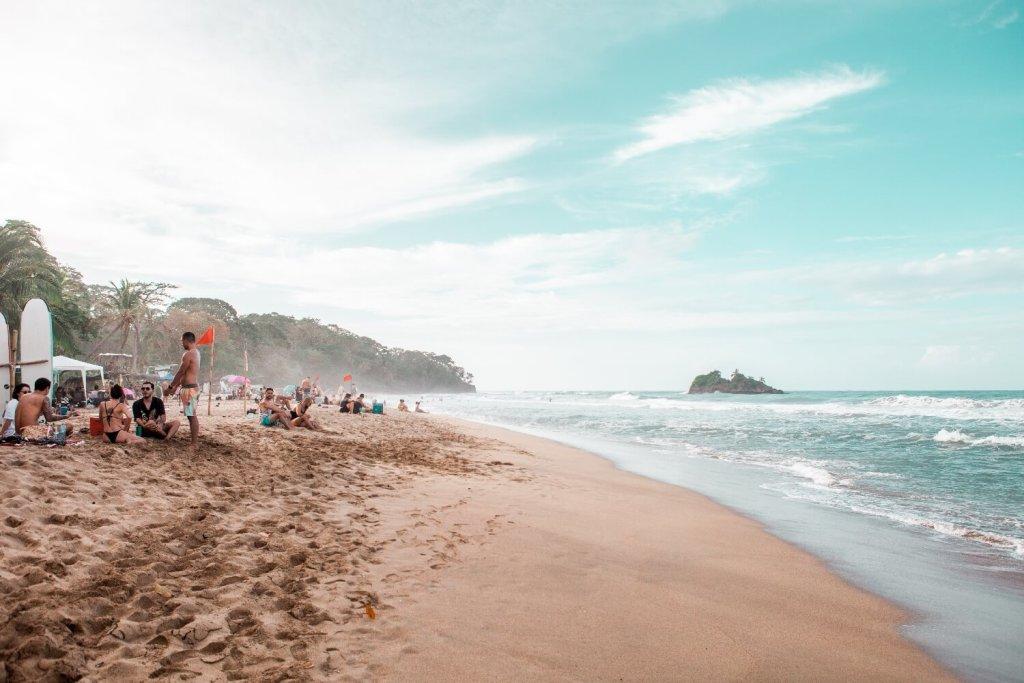 Playa Cocles Strand