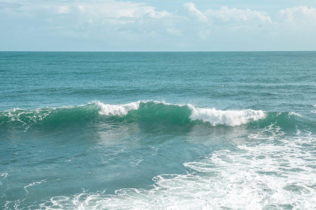 Karibikküste von Costa Rica Nationalpark Manzanillo Meer