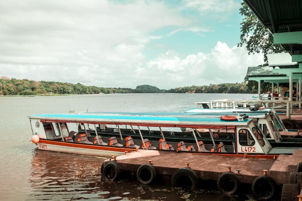 Unser Motorboot