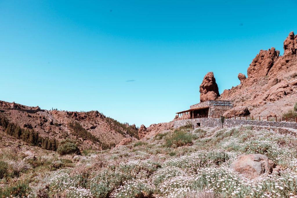 Nationalpark el Teide auf Teneriffa Ausblick