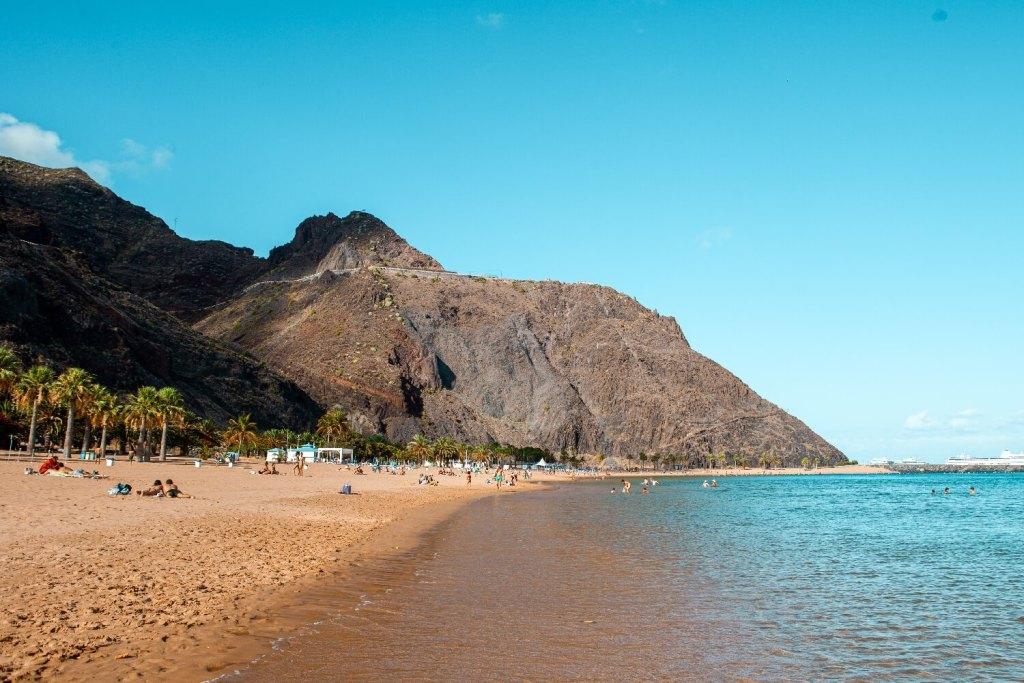 Playa de las Teresitas Teneriffa