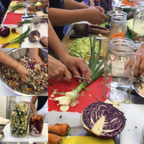 SUMMER wild fermentation workshop collage