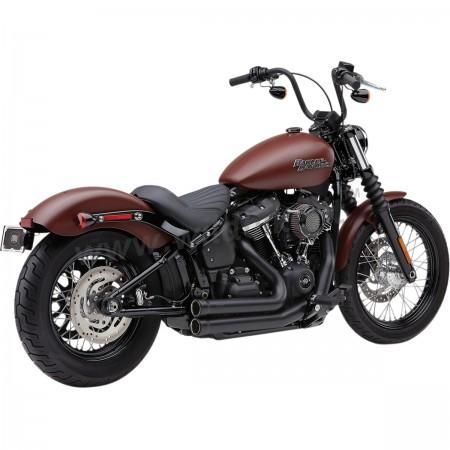 exhaust cobra speedster 909 2into2 black for harley davidson flsb softail sport glide m eight