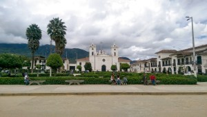 Plaza in Chachapoyas