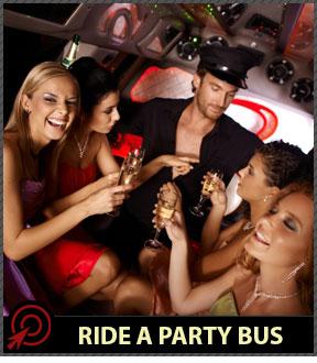 bachelorette party bus in Las Vegas