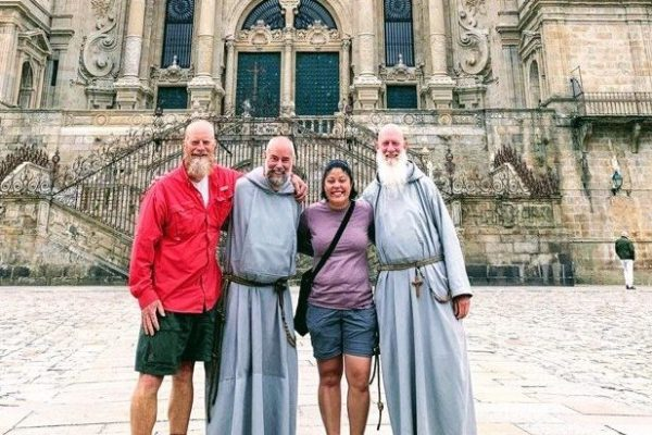 Marilis Pineiro. Two Friars, A Deacon And An Ex-Nun-On-The-Run On The Camino De Santiago.