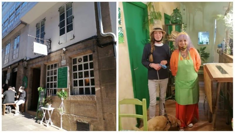 Shanta Ranee On Serendipity And The Green House In Santiago De Compostela